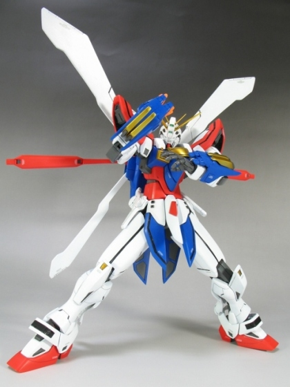 God Gundam in Action