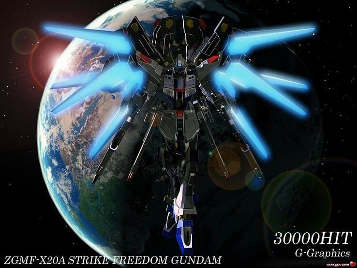 Strike Freedom And Infinite Justice Wallpaper The Zgmf-x20a Strike Freedom