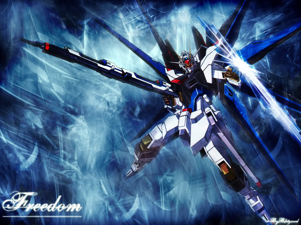Strike Freedom And Infinite Justice Wallpaper The Strike Freedom is a Mobile