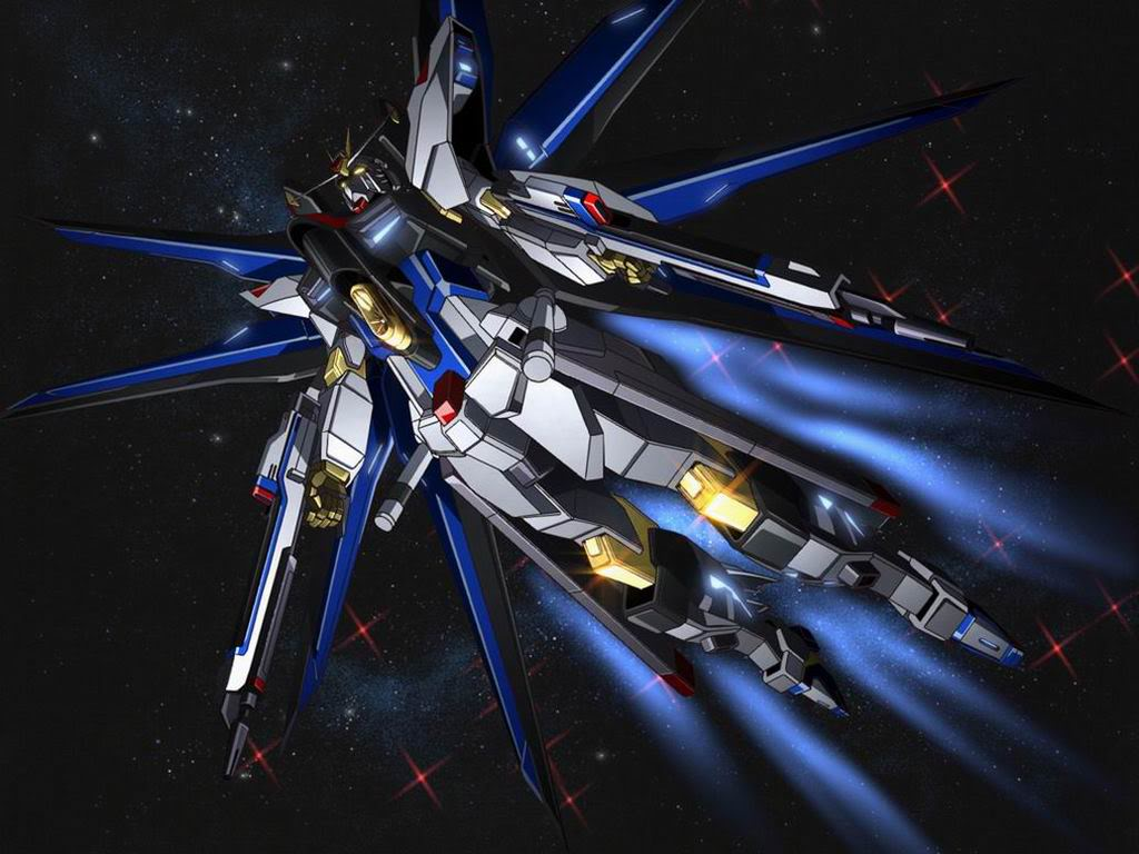 Strike Freedom And Infinite Justice Wallpaper Its Design Bears Striking